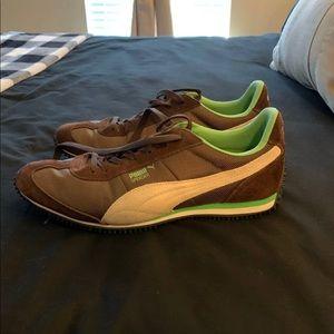 Size 9.5 excellent condition puma men's shoes